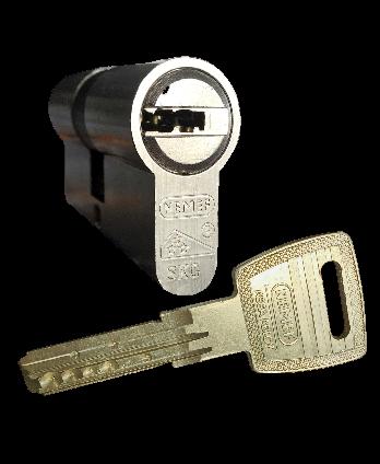 Achterdeur veiligheidcilinder